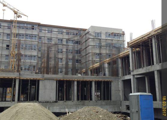Ansamblu rezidential Dristor Residential stadiu constructie