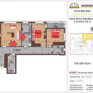 3 Camere Mihai Bravu Residence 8 Tip A Pret Apartament